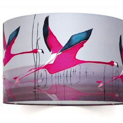 breaking dawn lampshade 40cm on white HR