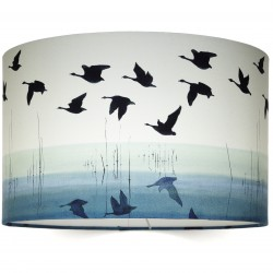welsh reflection lampshade on white HR