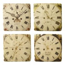 Clock Coasters