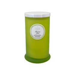 Persian Lime Tall Pillar Jar Candle