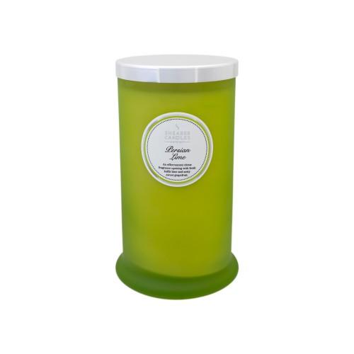 Persian Lime Tall Pillar Jar Candle