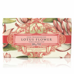 AAA Floral Soap Bar Lotus Flower High Res